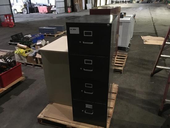 HON 4-Drawer File Cabinet