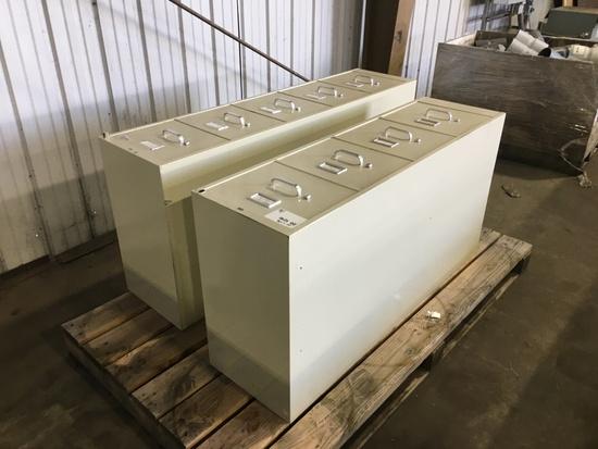 Filing Cabinets, Qty. 2
