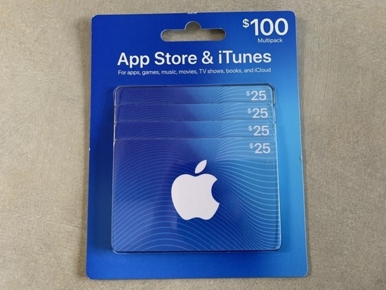 Apple App Store & iTunes Gift Cards