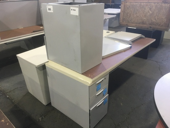 Desks Qty. 3