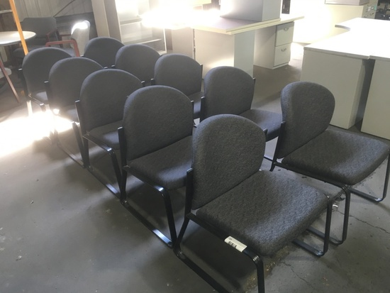 Waiting Room Chairs, Qty. 10