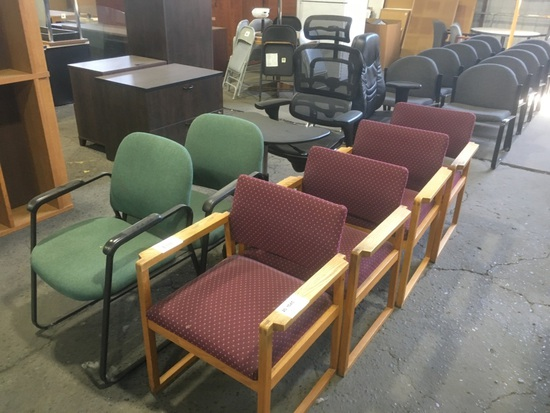 Office Chairs, Qty. 8