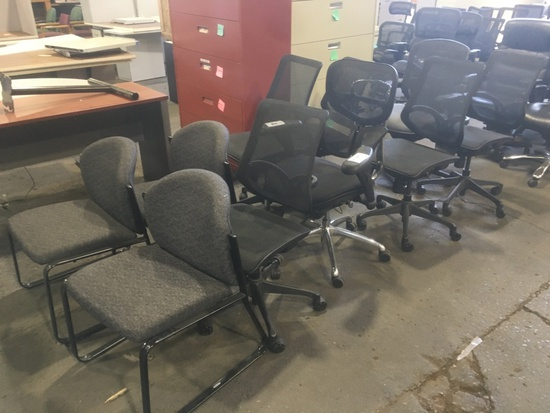 Task & Guest Chairs, Qty. 10