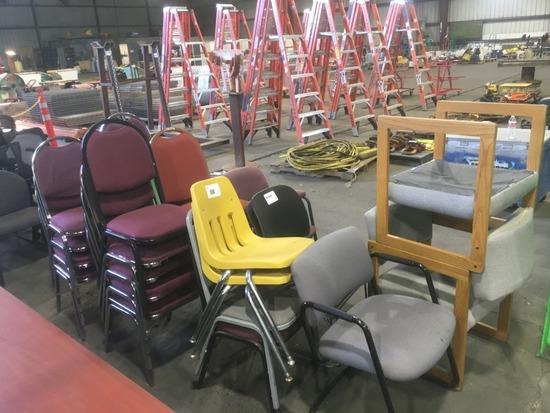 Chairs, Qty. 28