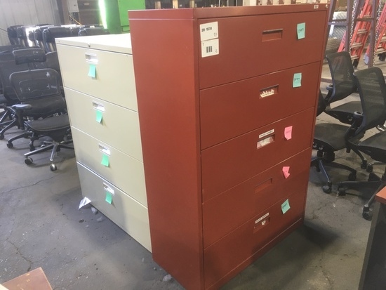 Lateral Filing Cabinets, Qty. 3