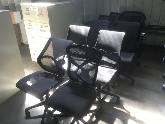 Office Chairs, Qty. 10