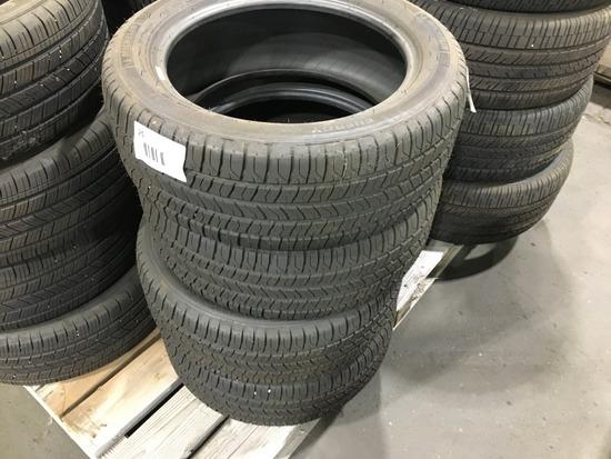 Michelin P225/50R17 Tires, Qty. 4