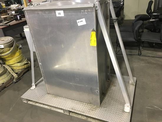 Aluminum Storage Cabinet