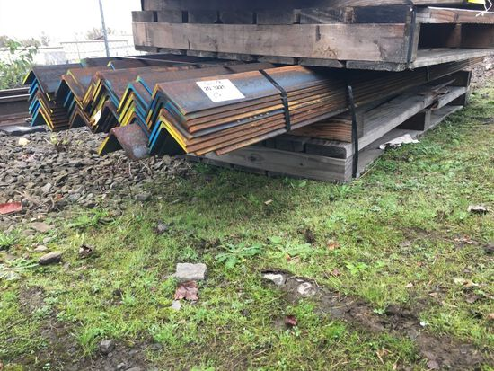 Angle Steel, Qty. 60 Pieces