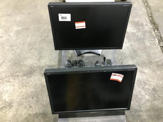 NEC Multisync Monitors, Qty. 2