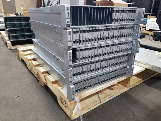 Cisco UCS C240 M4 Servers, Qty. 5