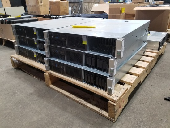 HP ProLiant Server DL380 Gen9, Qty. 6