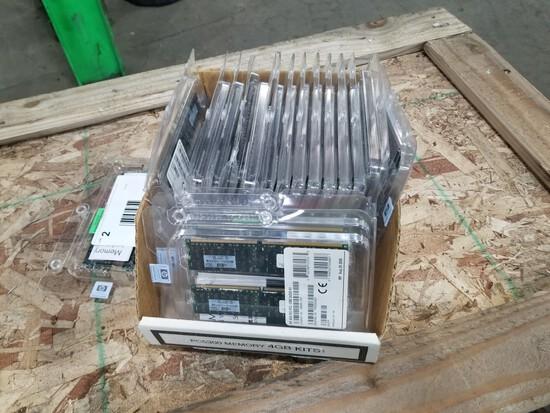 HP 4GB Memory Cards, Qty. 36
