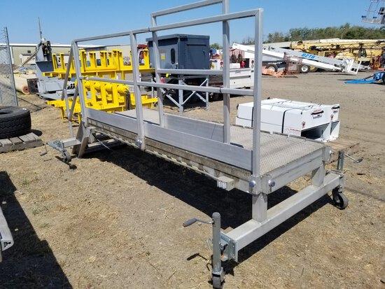 Adjustable Aircraft Platform