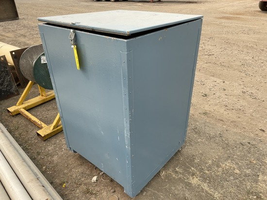 Wooden Storage Box, Qty. 1