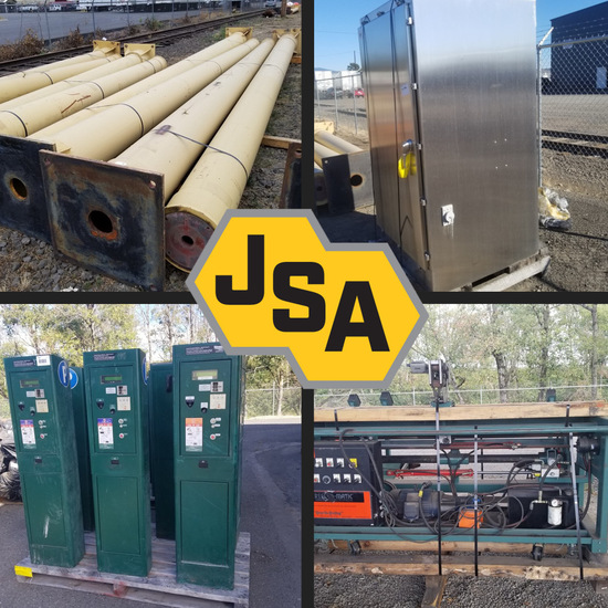 Government Surplus Timed Online Industrial Auction