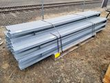 Metal Support Beams, Qty. 20