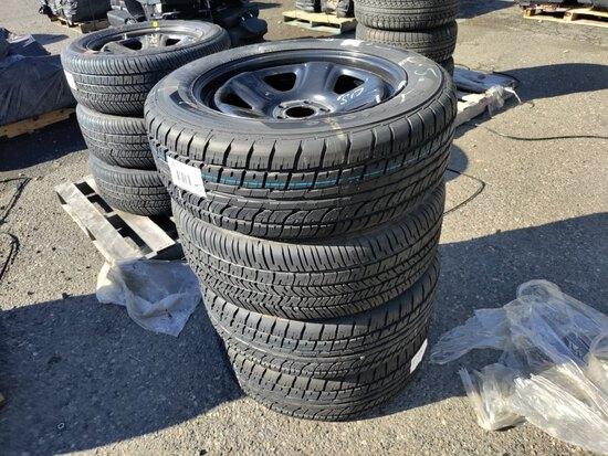 Firestone FireHawk Tires, Qty. 4