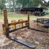Wicker Machine Co. KGPR600 6 Foot Heavy Duty Forks. 8 Feet wide,