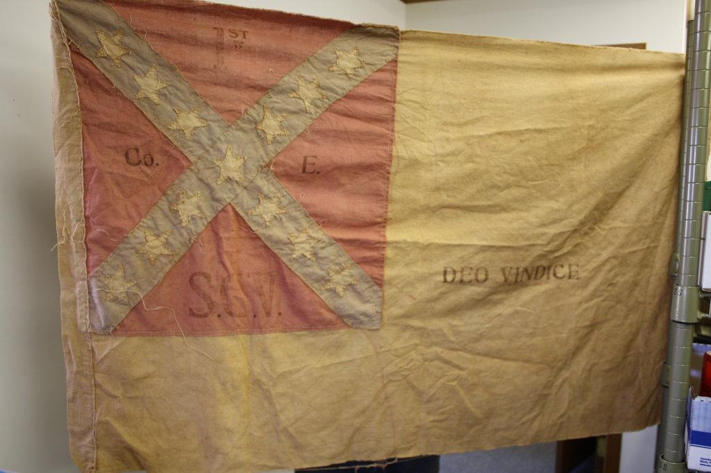 1st Savannah Georgia Volunteers Company E Confederate Flag
