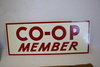 NOS Local Co-Op Member Metal Sign A