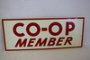 NOS Local Co-Op Member Metal Sign B