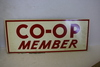NOS Local Co-Op Member Metal Sign C