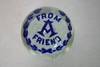 "Masonic Paperweight ""From 'A' Friend"""