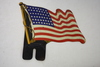 American Flag Plate Topper