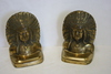 W.D. Allen Mfg. Indian Chief Book Ends