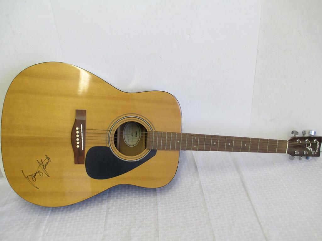Music Memorabilia & Autograph Auction