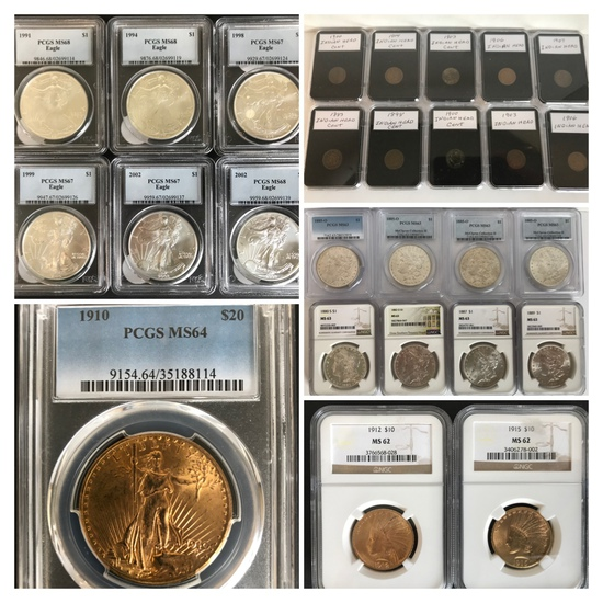 One Owner Coin Collection Online Auction