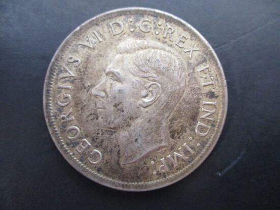 1939 Canadian One Dollar Coin