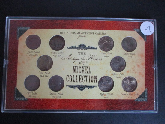 The Antique Historic Nickel Collection