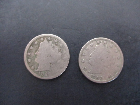 Victory Nickel Lot of 2