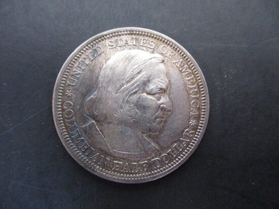 1892 World's Columbian Exposition Coin