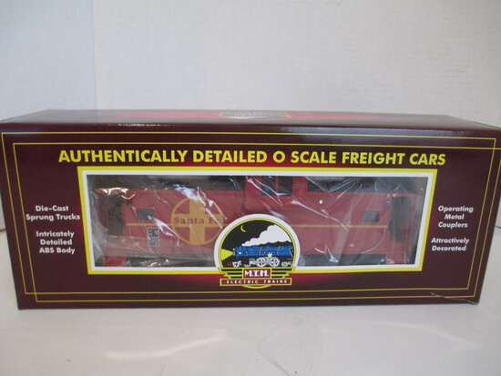 M.T.H. Electric Trains Santa Fe Extended Vision Caboose