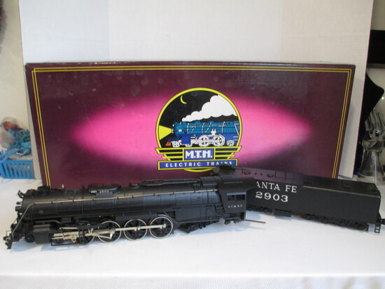 M.T.H. Electric Trains 4-8-4 Northern Die-Cast Steam Engine And Tender