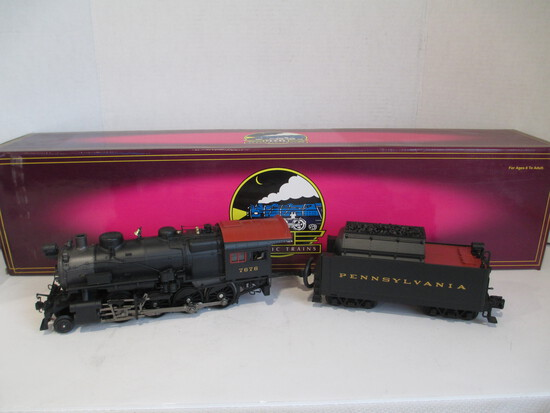 M.T.H. Electric Trains H10's 2-8-0 Consolidation Steam Engine