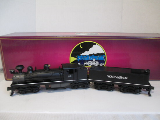 M.T.H. Electric Trains W.V.P.&P. Shay Die-Cast Steam Engine And Tender