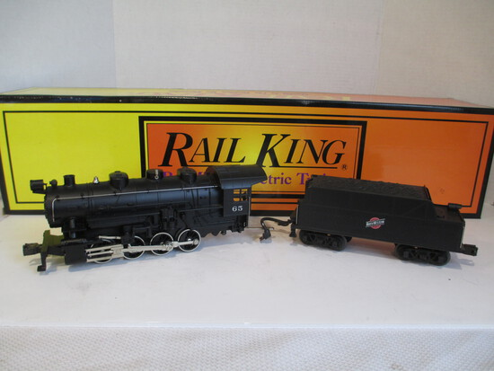 M.T.H. Electric Trains 0-8-0 Chicago Northwestern Scale Switch Engine