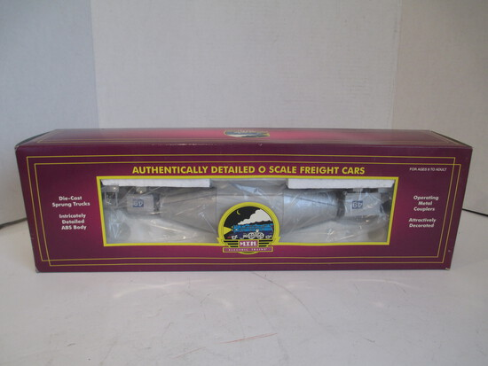 M.T.H. Electric Trains Silver Hot Metal Car