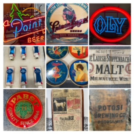 One Owner Beer Advertising Collection Plus!!!