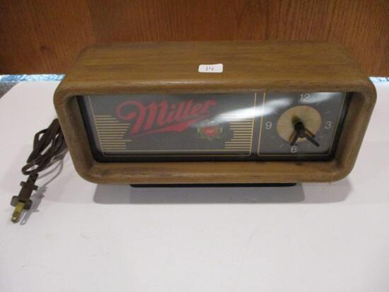 Miller Motion Spinner Clock