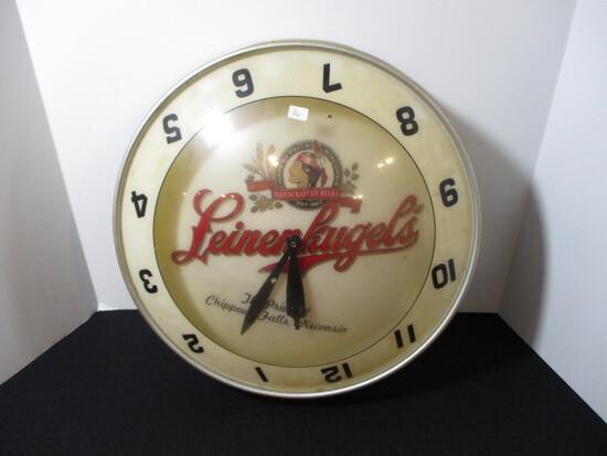 Leinenkugel Battery Operated Clock