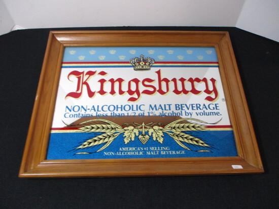 Kingsbury Advertising Mirror