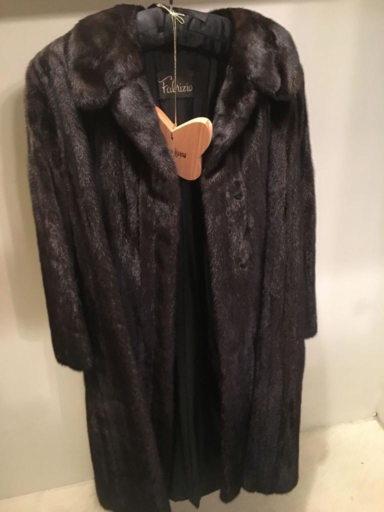Full Length Fabrizio Mink Coat Excellent Condition