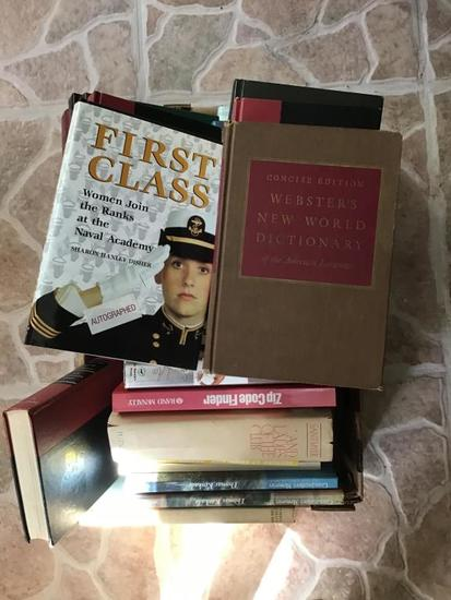 Box of fiction and nonfiction books number 2