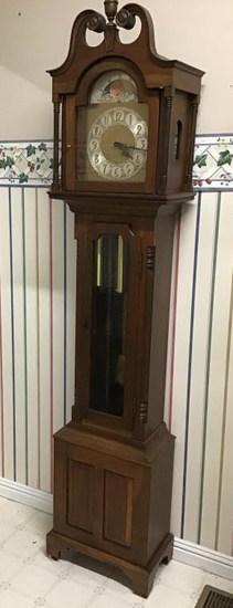 Western Germany grandfather clock.  Cherry