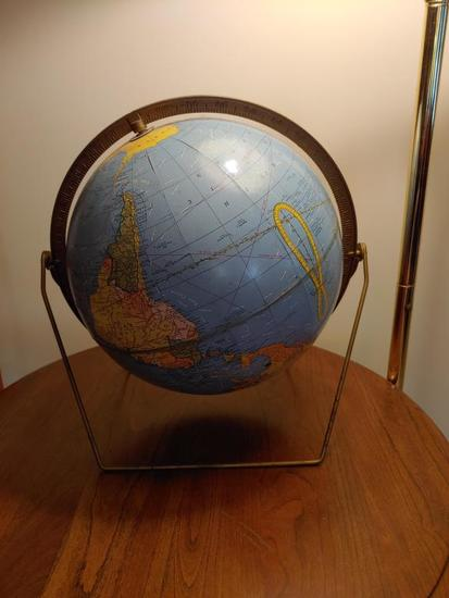 Early globe.  Good condition